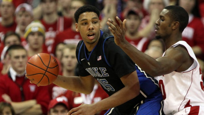 Duke defeated Wisconsin 80-70 on Dec. 3, 2014. They will play again for a national title on Monday.