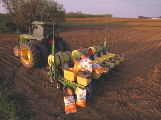 Some of DuPont's crop protection products.