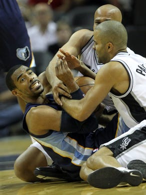 April 27, 2011 -   Memphis Grizzlies guard Mike Conley