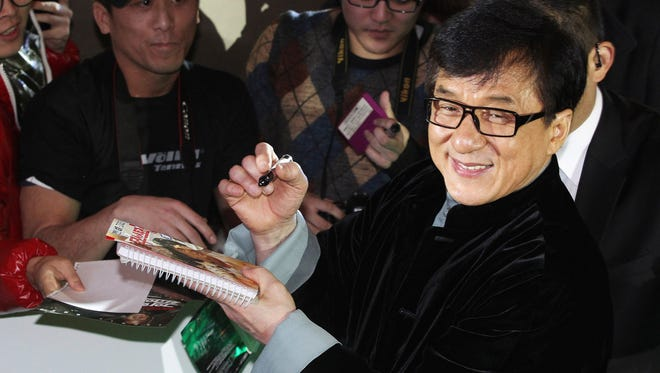 Hong Kong actor and director Jackie Chan said he feels shame for his son, who has been indicted by Beijing prosecutors on a drug charge and could be jailed for up to three years.