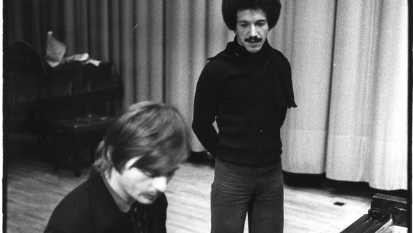 ECM Records founder Manfred Eicher with jazz great
