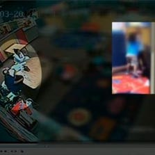Cell phone video surfaces of toddlers fighting at day care.