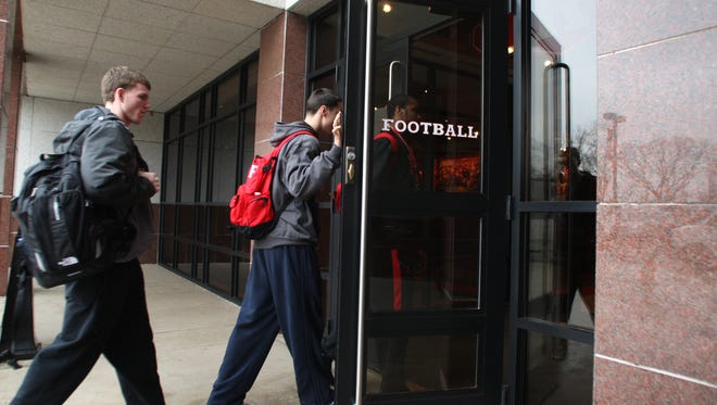 Rutgers football players walking into the Hale Center are going to find an upgraded weight room from past standards.