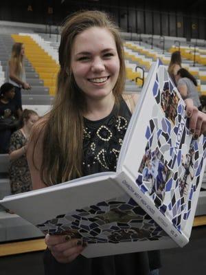 Katy Lahr,  Oshkosh West class of 2016 will be graduating on Saturday, June 4, 2016 at Kolf Sports Center.