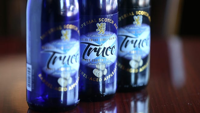 Apple Country Spirits and Knucklehead Brewery have collaborated to create Truce, a barrel-aged product.