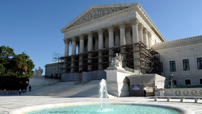The Supreme Court, shown Oct. 15 in Washington, is pondering hypothetical cases.