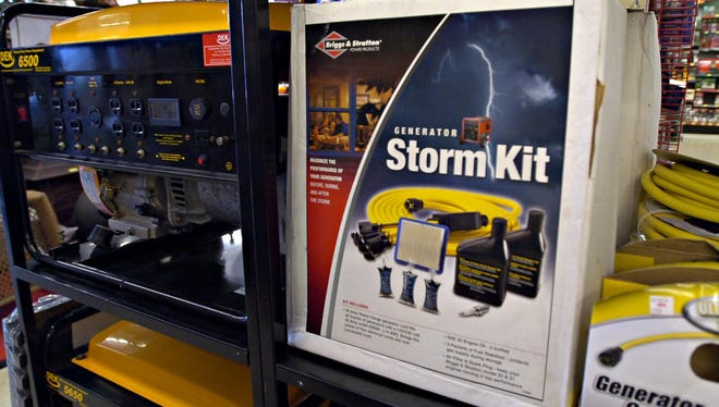 Many people consider generators an essential hurricane supply.  It's important to be prepared for a potential storm, by getting essentials, like nonperishable food and bottled water.