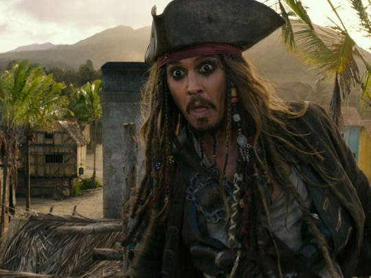 Johnny Depp is back as Jack Sparrow in a meandering