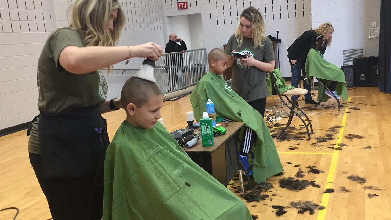 Kennedy Elementary School in Succasunna hosted their 4th annual St. Baldrick's Day to raise money for childhood cancer.