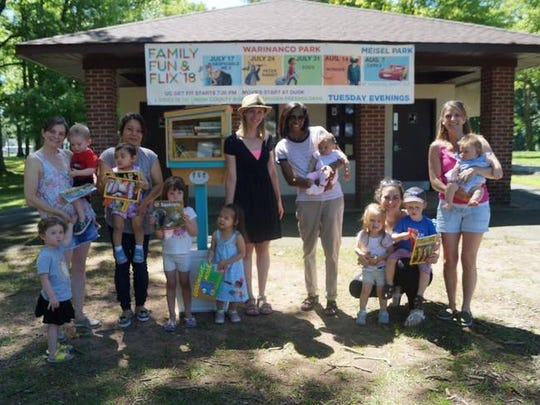 A new Little Free Library at Union County's Unami Park