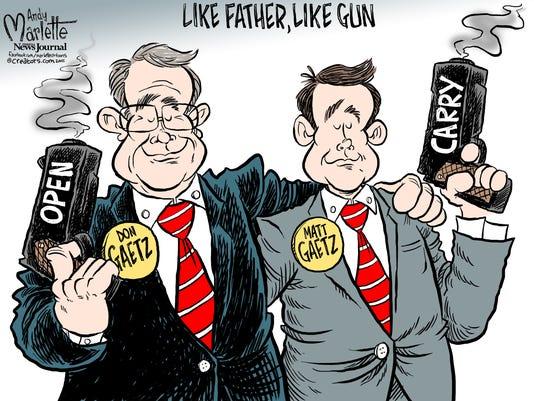 Gaetz Open Carry