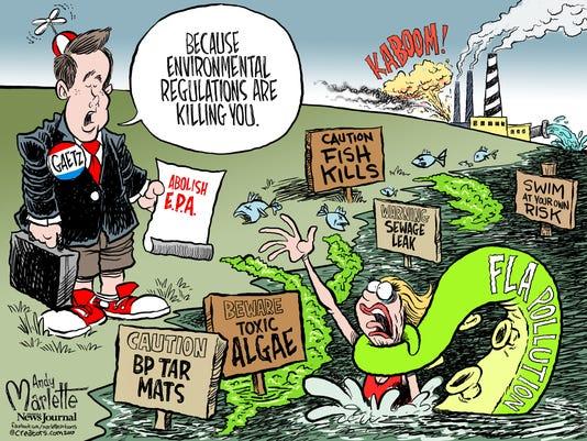 Gaetz and the EPA