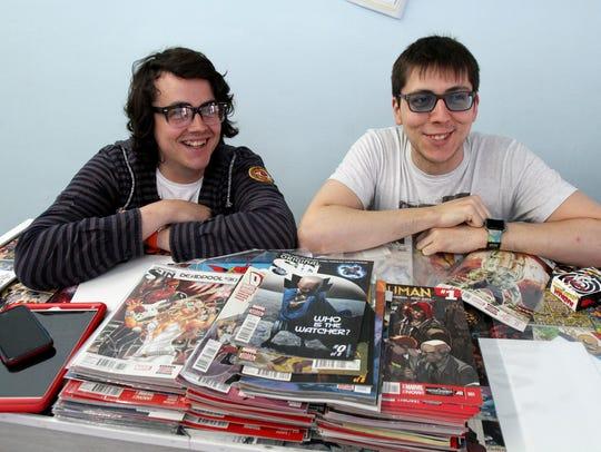 Doug Preston (left) and his brother Justin Preston