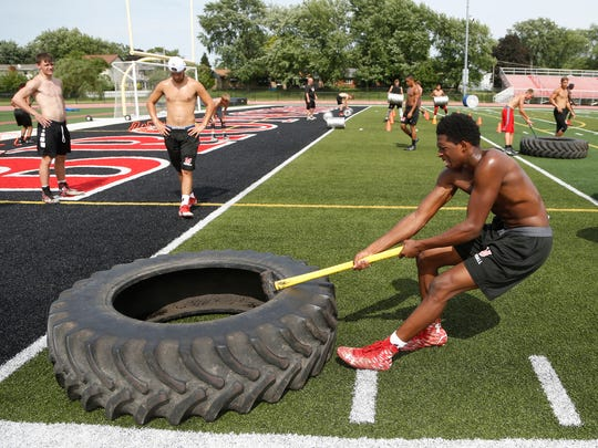 Lafayette Jeff athletes take part in Game Day Domination