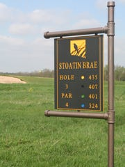 Stoatin Brae is a links-style course in the Augusta