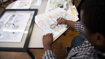 Upstate artist uses work to impact race relations