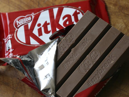 Britain Europe Kitkat Battle