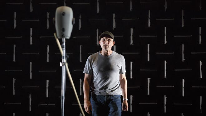 "Simon McBurney, who also conceived and directs the show, uses sound in bold new ways in ""The Encounter."""