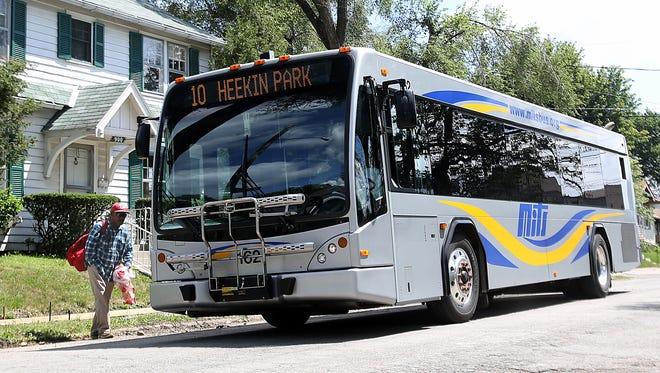 A MITS bus.