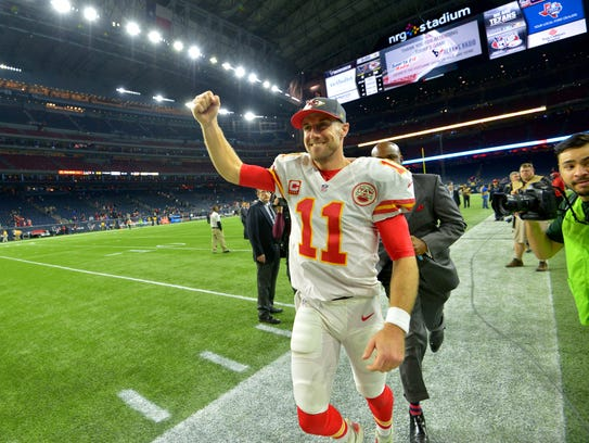 Alex Smith is getting the job done, even if it's not