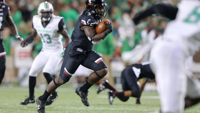 University of Cincinnati fans may be seeing more of younger players such as true freshman running back Michael Warren II as the season progresses.