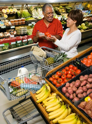 The perimeter of grocery stores is where the freshest and typically the healthiest foods can be found.