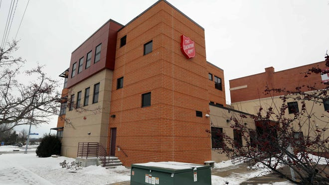 The exterior of the Salvation Army as seen Jan. 23, 2016 in Sheboygan. The facility has limited temporary housing for homeless individuals.