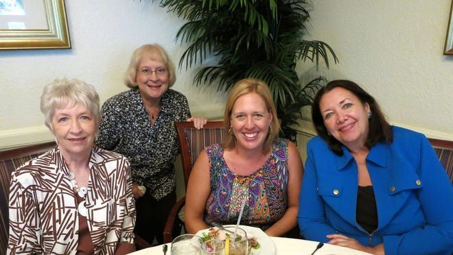 Marilyn Leland, Irene Ginat, Holly Leland and Donna Gillroy