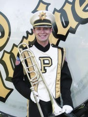 Nathan Purk, in his third year at Purdue University,