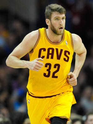 Spencer Hawes played for the Cavs and 76ers last year.