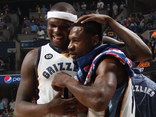 May 13, 2013 -   Memphis Grizzlies forward Zach Randolph