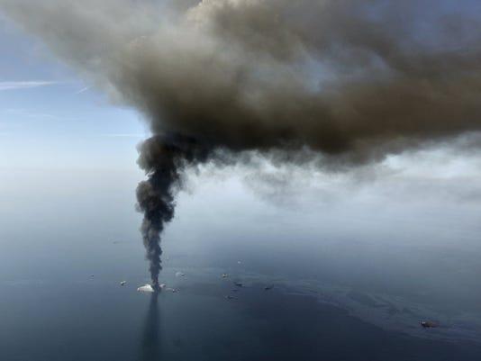 BP oil spill report