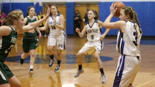 Putnam Valley defeated Pleasantville 43-33 in a girls