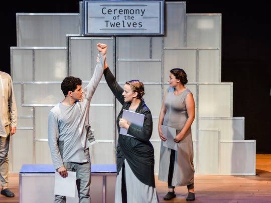 A scene from Florida Rep's 'The Giver'