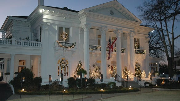 Governor's Mansion in Montgomery.
