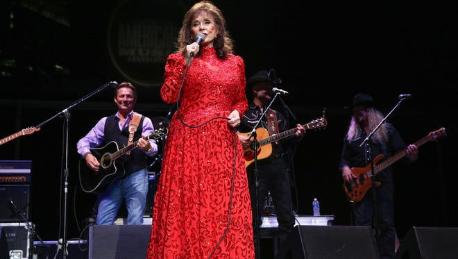 Loretta Lynn performs during the 16th Annual Americana Music Festival & Conference at Ascend Amphitheater  in Nashville.