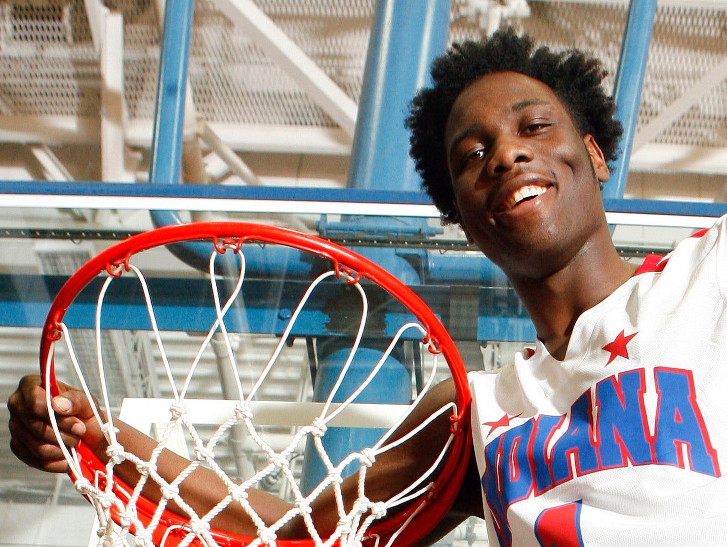 Homestead's Caleb Swanigan is the 2015 IndyStar Mr. Basketball.