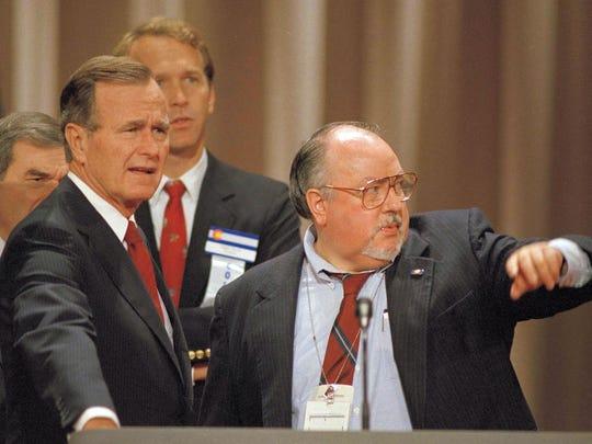 George H.W. Bush, George Bush, Roger Ailes