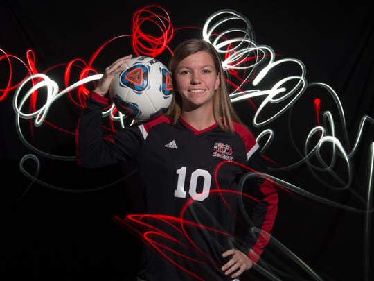 Madelaine Rhodes of Vero Beach High School, all-area
