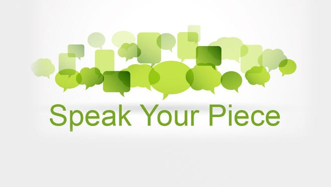 Speak your piece