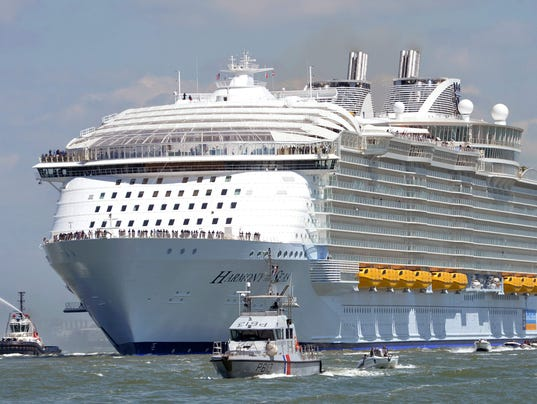 Port Canaveral Getting New Royal Caribbean Megaship In - Harmony cruise