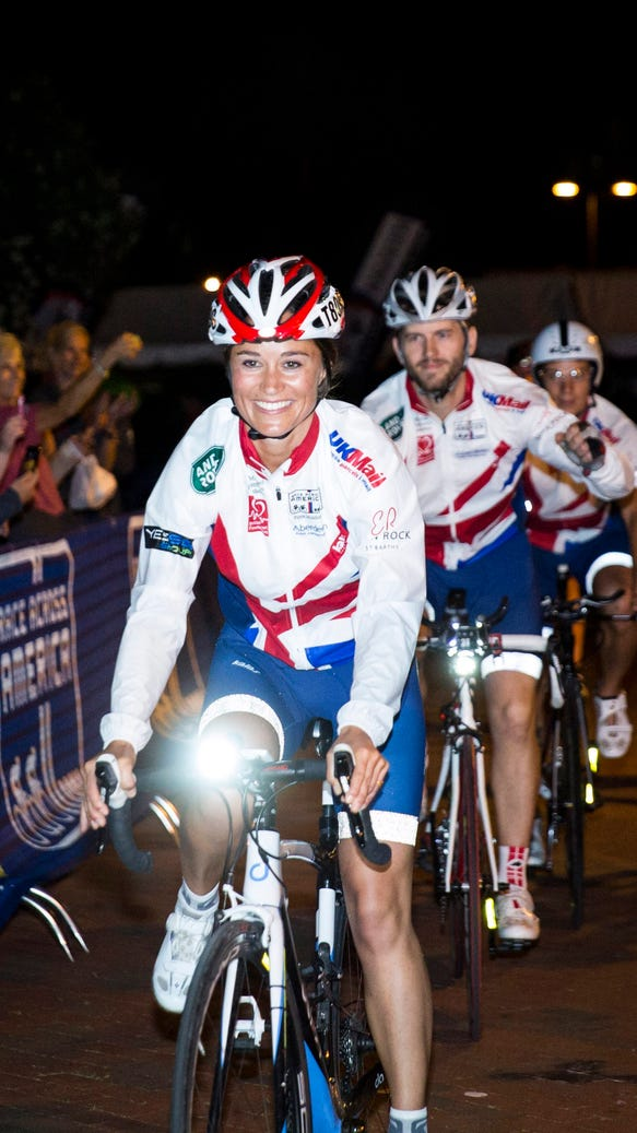 Pippa Middleton Race Across America