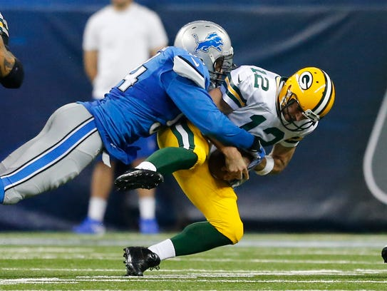 Aaron Rodgers' collarbone injury means the Detroit Lions have a chance to win their first NFC North title.