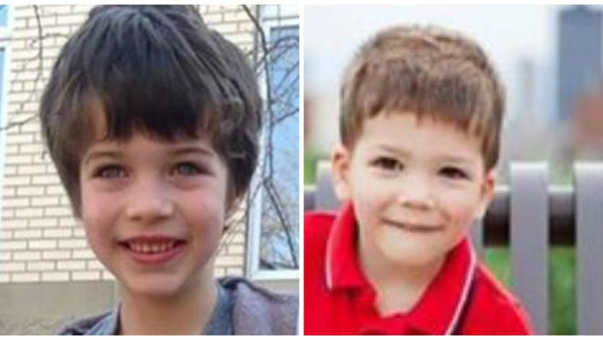 Police have confirmed that two missing Johnston boys have been found.