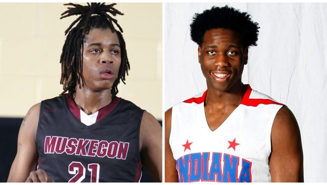 Deyonta Davis of Muskegon and Caleb Swanigan of Fort Wayne, Ind., give the Spartans a heralded incoming frontcourt.