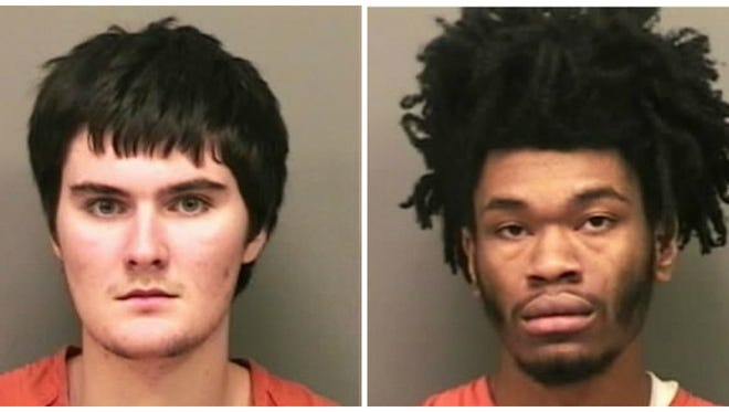 Dylan Felts and Navoj Dixon are charged with homicide in the Oct. 20 shooting death of Justin Revis.