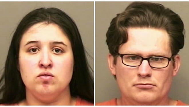 Rachel and James Grohmann are charged in the death of a newborn in 2015.