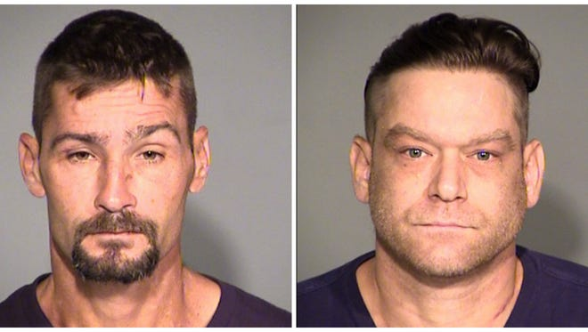 Glen Murphy, left, and Michael Stugala, right, have been preliminarily charged in connection with the death of James Hardcastle.