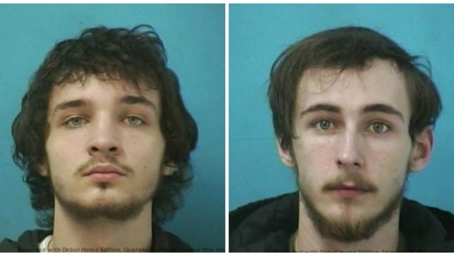 Miles Richardson Holt, left, and Jonathon Kyle Elliott were arrested and charged with criminal homicide on Jan. 11 in connection to the shooting death of Randy Ward, 43, of Nolensville.