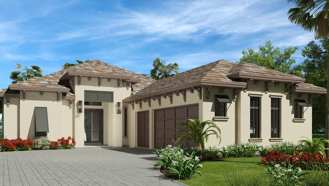 Harbourside Custom Homes' 2,971-square-foot single-family Aviano II residence in Corsica at Talis Park.